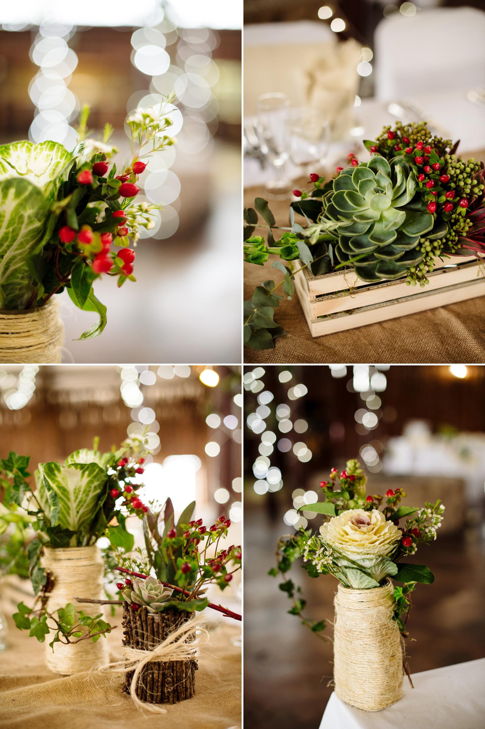 bush wedding decor
