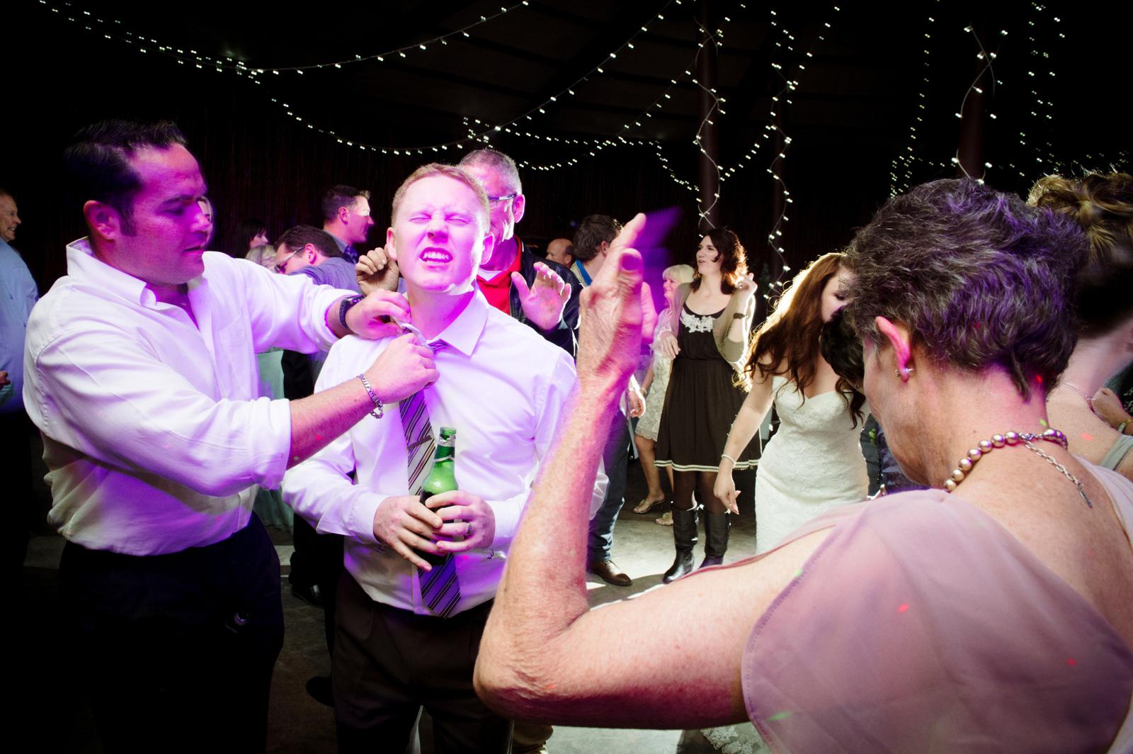 drunk groom