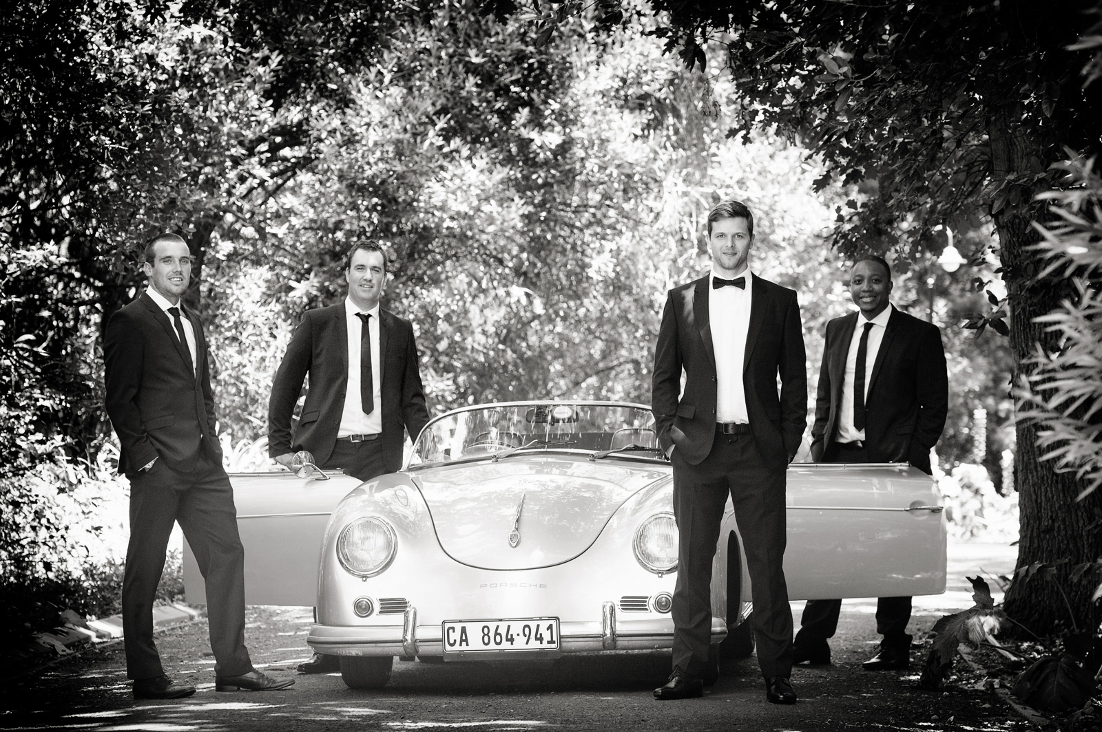 Men with Porsche