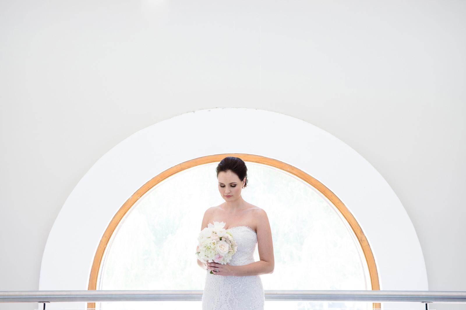Bride with halo