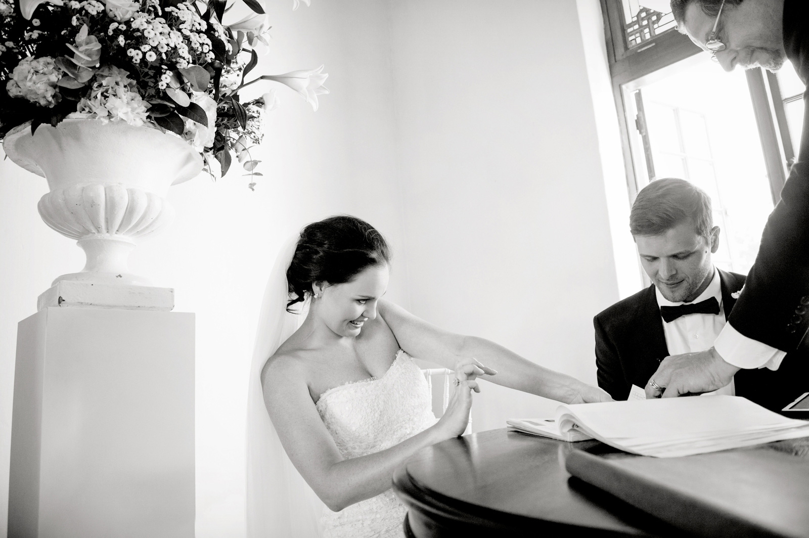 Bride and Groom thumbs