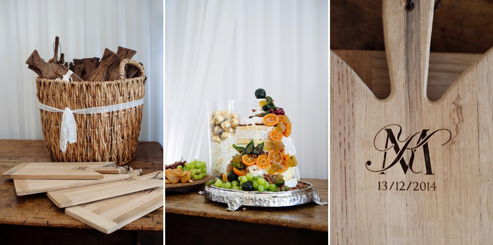 Wedding cheese boards