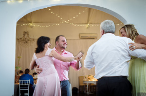 Son and Mother dancing