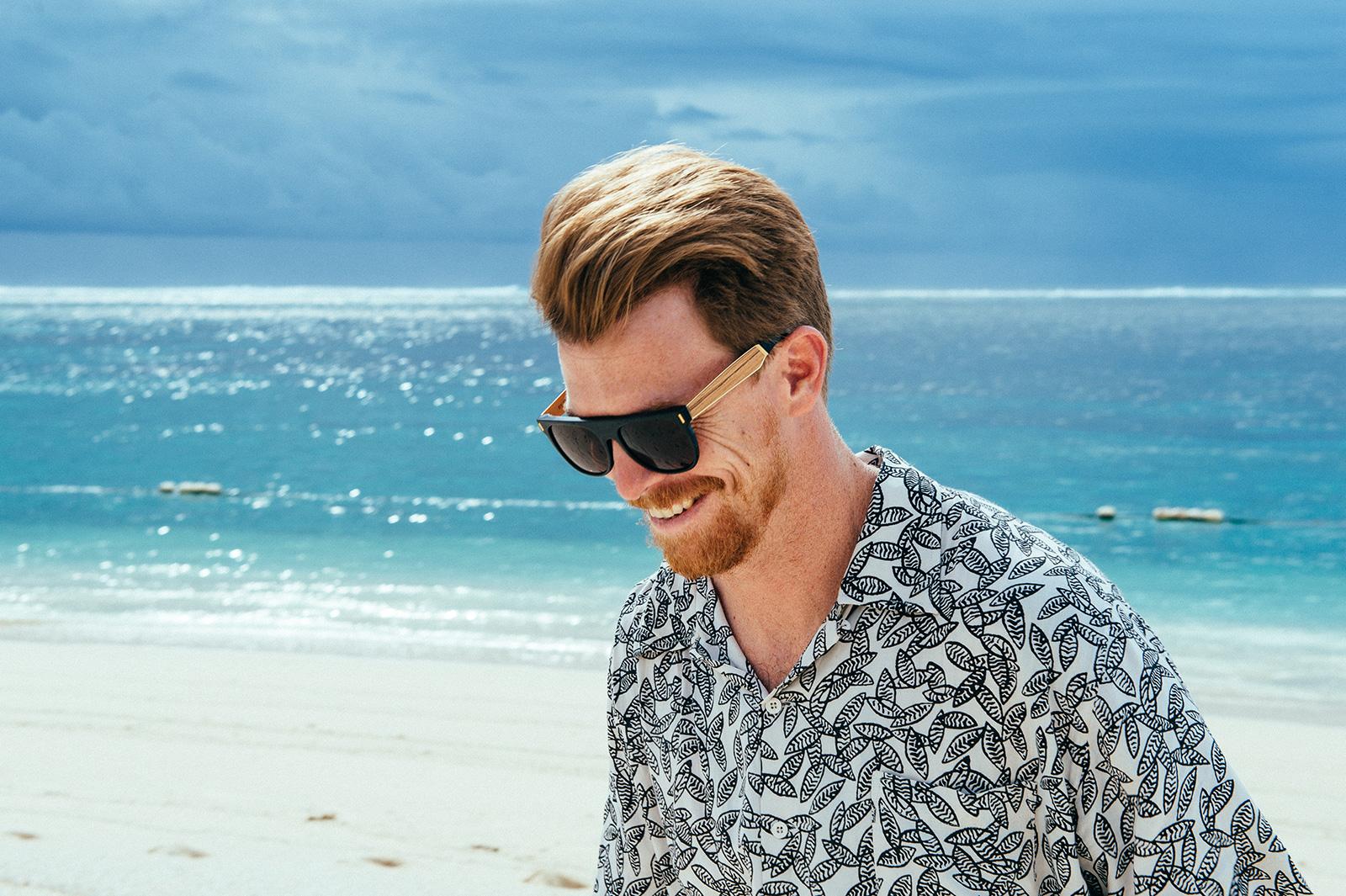 Man in Mauritius