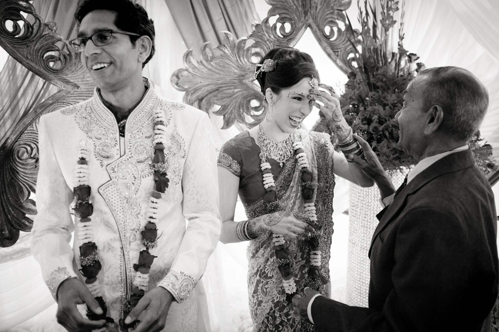 Bride and Bhindi
