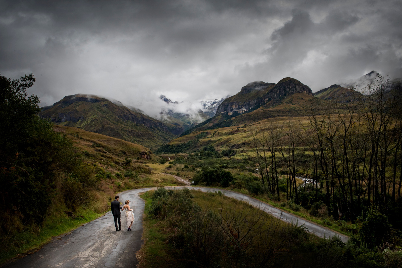 Drakensberg Wedding Photo