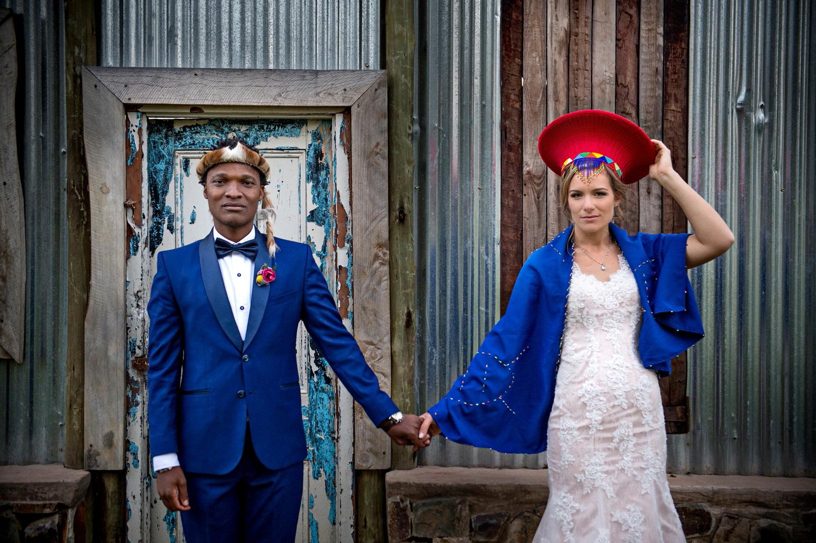 Zulu man weds German lady in South Africa