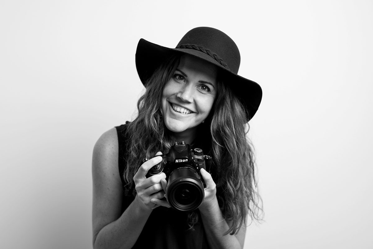 Portrait of Top South African female photographer