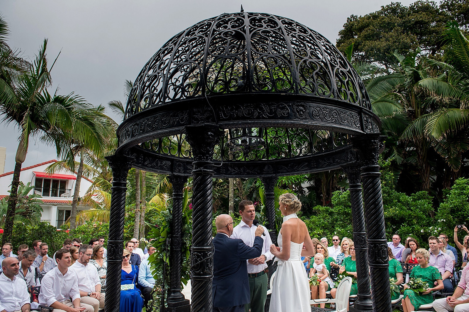 Destination wedding at the Oyster Box Hotel photographed by Jacki Bruniquel