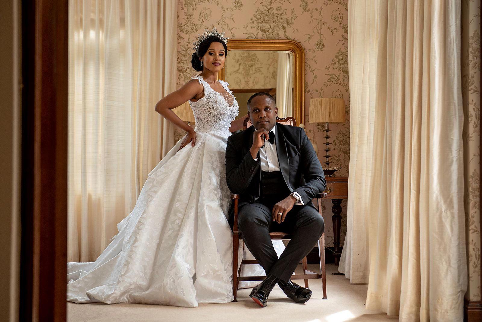 Creative couple portrait photograp