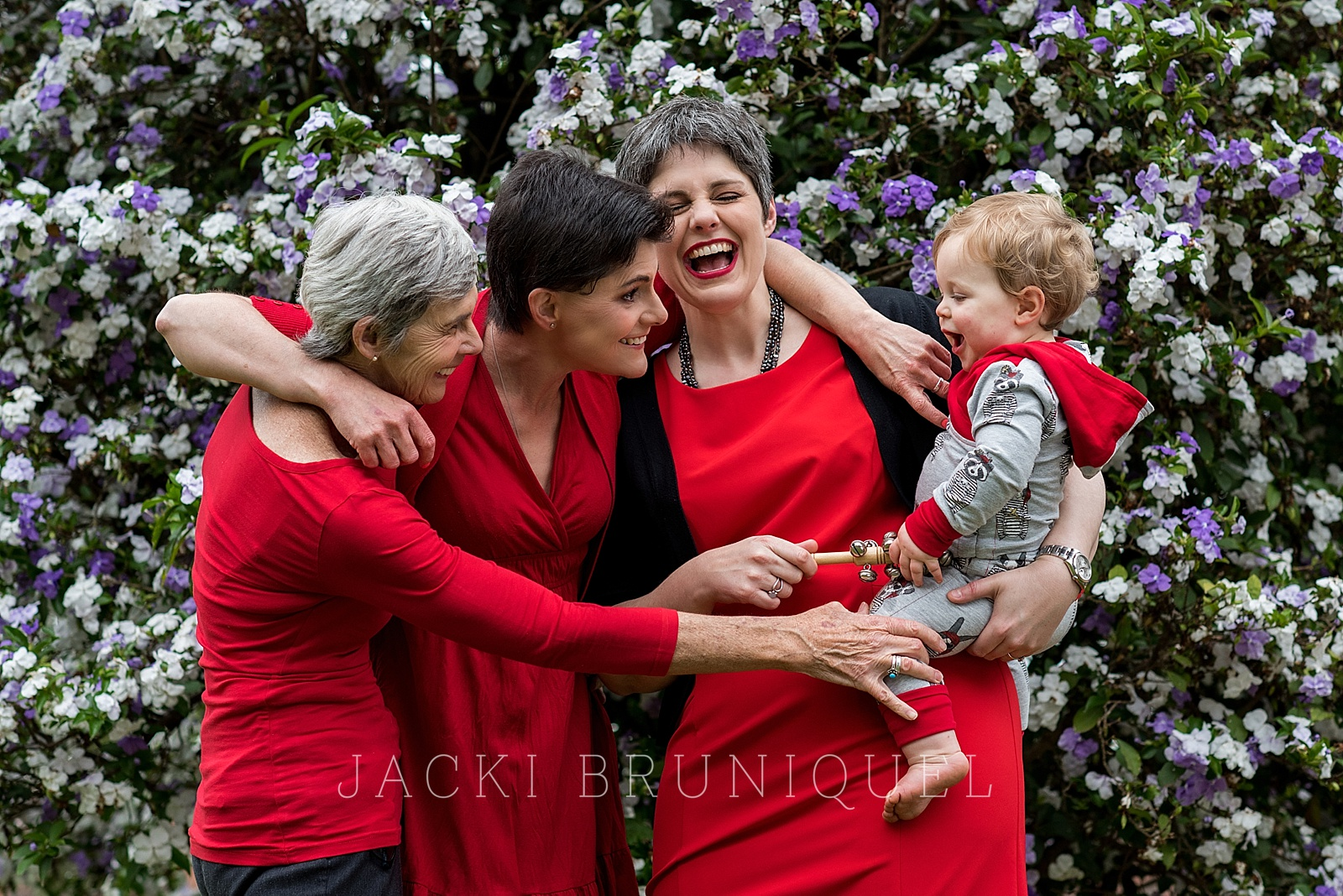Creative family shoot shot by top South African documentary photographer Jacki Bruniquel.